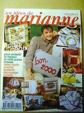 Magazine tricot  Marianne le point de croix pour embellir la maison  N°55 /Z108