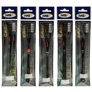 POLE FLOAT ASSORTED RIGS CARP FISHING TACKLE BARBLESS HOOK READY TIED X 10