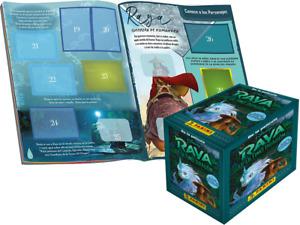 RAYA THE LAST DRAGON Panini Sticker Collection 50 PACKS BOX & ALBUM
