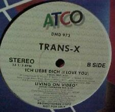 "Trans X Ich Liebe Dich Living On Video 12"""