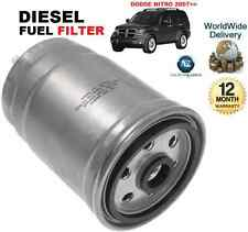 FOR DODGE NITRO 2.8DT 07-2007>ON SUV MPV NEW DIESEL FUEL FILTER OE QUALITY