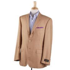NWT $2395 BELVEST Orange Micro Houndstooth Super 120s Wool Sport Coat 40 R