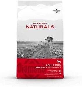 Diamond Naturals Premium Formulas Dry Dog Food for Adult Dogs Made with Real Me
