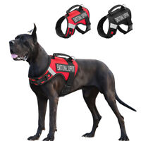 Emotional Support Dog Harness with Handle Pet Reflective Service Vest Removable