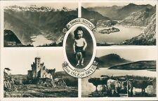 """Postcard  the Isle of Skye """"A Small Scotch From the Isle of Skye"""" posted 1958"""