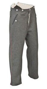 WW1 German army trousers for pattern 07/10 uniform 34 waist