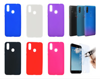 "Case Cover Gel TPU Silicone For ZTE Blade V10 (4G) 6.3"" + Optional Protector"