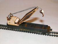 HO Scale Flatcar Crane Kit