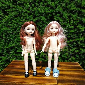 Doll Girl 12'' Moveable Jointed 1/6 Surprise Blyth Dolls, Dolls, BJD Toys Gift