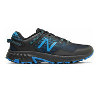 New Balance Mens 410v6 Trail Running Shoes Trainers Sneakers - Black Blue Sports