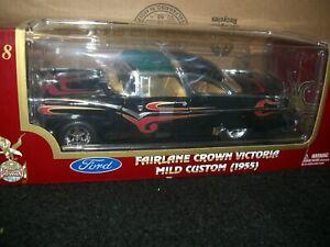 1/18 Yat Ming Road Ledgends 1955 Ford Crown Victoria Mild Custom