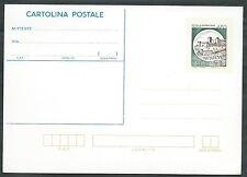 1986 ITALIA CARTOLINA POSTALE CASTELLO DI SPOLETO 450 LIRE - DE