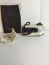 Vintage 1984 Norelco Folding Travel Iron Handheld 120/240 With Bag Tested.