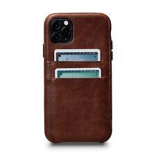 Sena Snap On Wallet Case for iPhone 11 Pro - Cognac