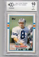 1989 TOPPS 70T HOF RC TROY AIKMAN COWBOYS