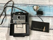 VTG Polaroid Land Camera Automatic 100 With Flash And Manual