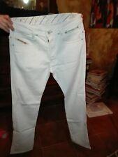 Diesel Jeans Uomo bianco w 30 paddom stretch
