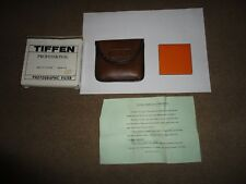 "BOXED TIFFEN PROFESSIONAL FILTER 3 x 3"" SQUARE COLOUR 85B  ORANGE IN WALLET"