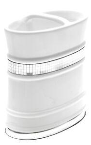 Bathroom Tooth Brush Holder White Popular Bath Radiance Collection