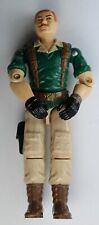 G.I. JOE / 1985 V Action Figure / Hasbro Toys / Crankcase - A.W.E Striker Driver
