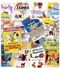 Custom - Disney Movie Posters Lady Tramp Bambi Alice White Bath Hand Towel Set 2