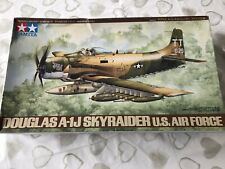 Tamiya 1/48 Scale Douglas A-1J 'Skyraider' U.S. Air Force Model Set 61073 NEW A1