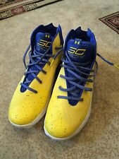 0a27a3a5b34c NEW MENS SIZE 11 UNDER ARMOUR STEPH CURRY WARRIORS BASKETBALL SHOES 3ZERO