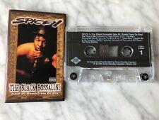 Spice 1 The Black Bossalini Cassette Tape 1997 Jive Dr. Bomb From Da Bay RARE!