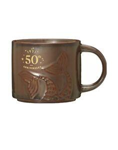 Starbucks Siren 50th Anniversary Mug Ceramic Mermaid Tail Cup 2021 12 oz -x card