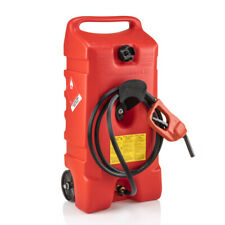 Flo N Go 06792 Duramax Plastic Red Portable Wheeled Fuel Container 14 Gal