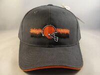 Cleveland Browns NFL Vintage Strapback Hat Cap Gray