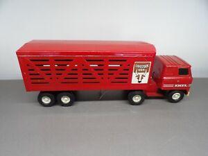 Ertl International Semi  Livestock Truck and Trailer