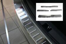 Umbrales y Protección de Bordes Carga para Skoda Rapid Espacio Trasero Bj 2013