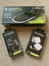POWERMAT Wireless Charging Mat, Receiver PowerCube, Connectors, iPhone 3C Cover