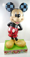 SHOWCASE COLLECTION Micky The Main Mouse Maus Statue Jim Shore DISNEY ca.61cm