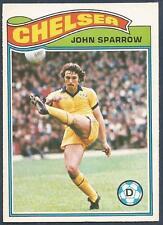 TOPPS 1978 FOOTBALLERS #071-CHELSEA-JOHN SPARROW