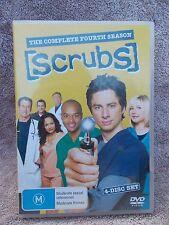 SCRUBS THE COMPLETE FOURTH SEASON(4 DISC BOXSET)  DVD M R4