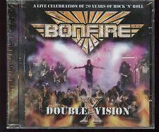 Bonfire Double Vision CD new