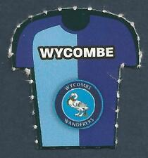 M BELL PANINI FOOTBALL LEAGUE 1996 T HOWARD #437-WYCOMBE WANDERERS-T EVANS