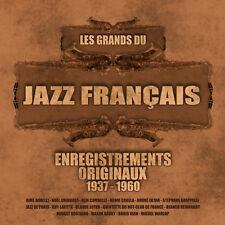 CD Les Grands du jazz français de 1937 à 1960 - Coffret 2 CD