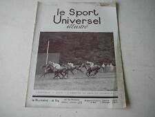 Le Sport Universel illustré 06.09.1930 L'arrivée du prix de Chantilly  n°1436