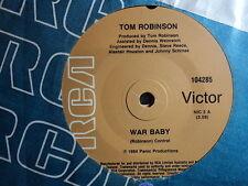 """Tom Robinson """"War Baby"""" Quite Rare Oz 7"""""""