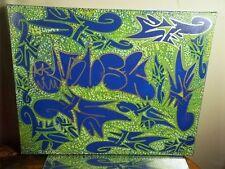 NYC CANVAS PAINTING BY MUSK YAI 16X20 GRAFFITI ABSTRACT 2013~ KILLUMINATI ww3