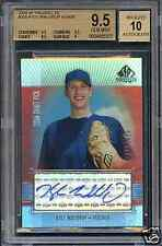 BGS 9.5/10 2004 SP Prospects Rookie Autograph KYLE WALDROP RC AUTO *GEM MINT!!