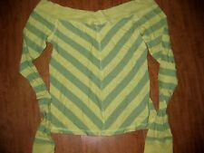 HOLLISTER green longsleeves shirt large juniors scoop