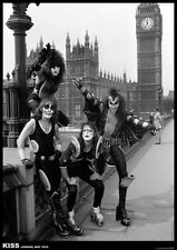 Kiss Poster London 1976 Buckingham Palace