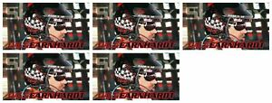 """(5) 1994 SkyBox Racing #1 Dale Earnhardt 4 1/2"""" x 2 1/2"""" Trading Card Lot"""