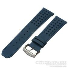 Genuine Citizen Watch Band for AT8020-03L H800-S081165 Blue Angels Leather Strap