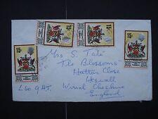 Postal Cover Trinidad & Tobago
