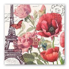 """Toujours Paris"" 20 Luncheon Paper Triple-Ply Napkins by Michel Design Works"